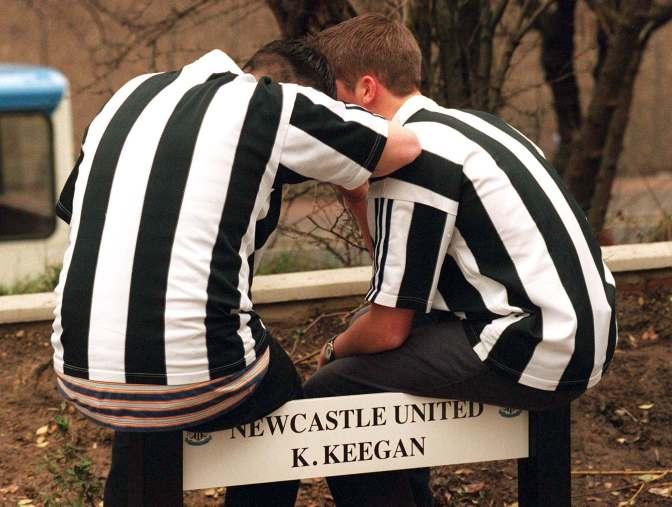 Iconic Moments: Keegan resigns (January 1997)