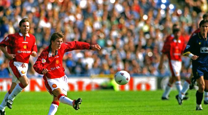 Great Goals: David Beckham – Wimbledon vs. MANCHESTER UNITED (August 1996)